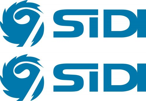 Наклейка логотип SIDI