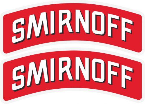 Наклейка логотип SMIRNOFF