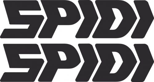 Наклейка логотип SPIDI