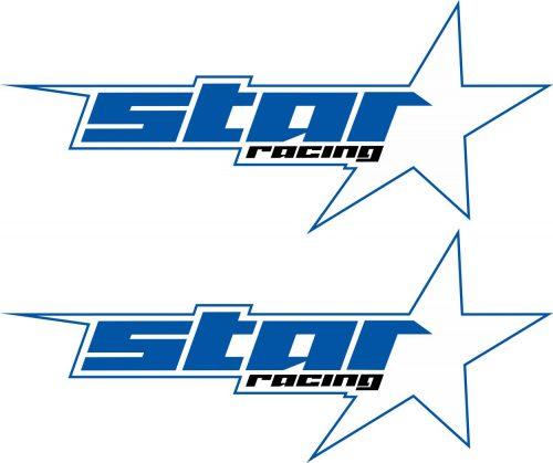 Наклейка логотип STAR-RACING