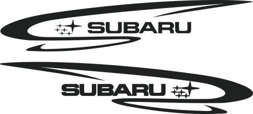 Наклейка логотип SUBARU-2