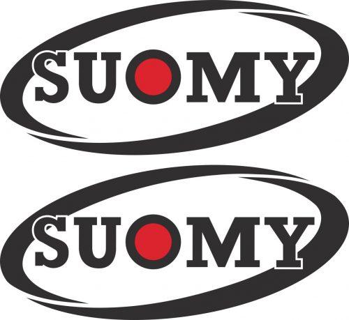 Наклейка логотип SUOMY-HELMETS
