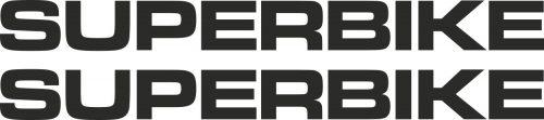 Наклейка логотип SUPERBIKE