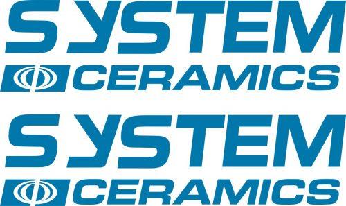 Наклейка логотип SYSTEM-CERAMICS
