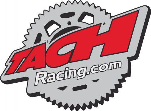 Наклейка логотип TACH-RACING