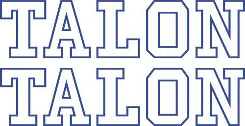 Наклейка логотип TALON