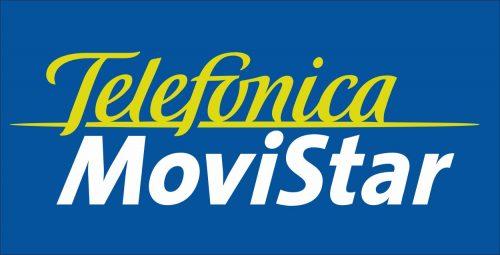 Наклейка логотип TELEFONICA-MOVISTAR