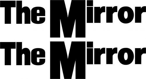 Наклейка логотип THEMIRROR