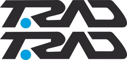 Наклейка логотип TRAD