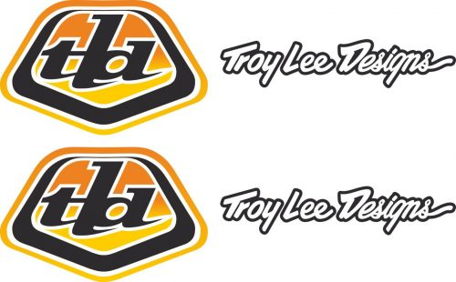 Наклейка логотип TROY-LEE