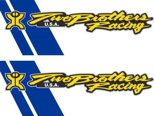 Наклейка логотип TWO-BROTHERS