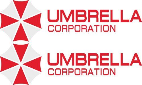 Наклейка логотип UMBRELLA-CORPORATION