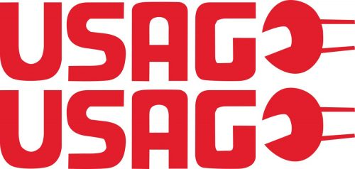 Наклейка логотип USAG