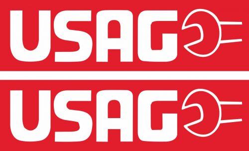 Наклейка логотип USAG_1
