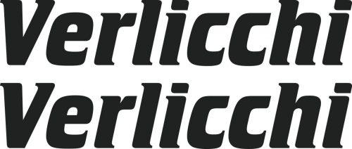 Наклейка логотип VERLICCHI