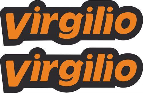 Наклейка логотип VIRGILIO