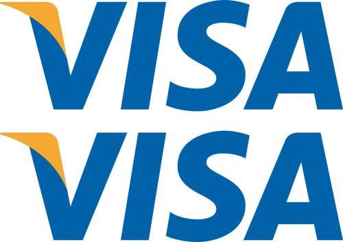 Наклейка логотип VISA