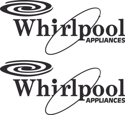 Наклейка логотип WHIRPOOL
