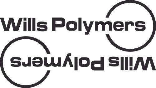 Наклейка логотип WILLS-POLYMERS