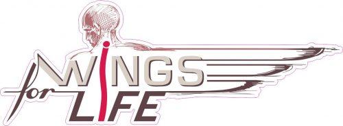 Наклейка логотип WINGS-FOR-LIFE