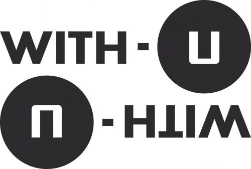 Наклейка логотип WITHU