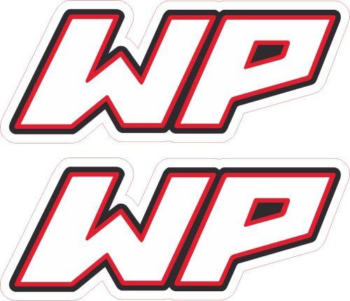 Наклейка логотип WP