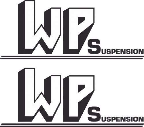 Наклейка логотип WPSUSPENSION