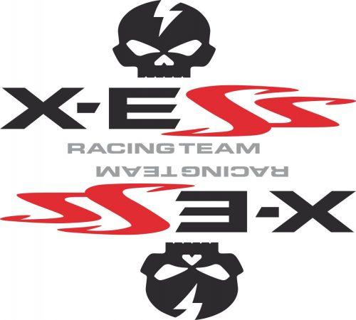 Наклейка логотип X-ESS