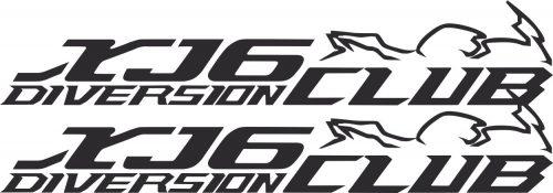 Наклейка логотип XJR