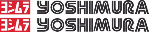 Наклейка логотип YOSHIMURA