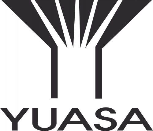Наклейка логотип YUASA