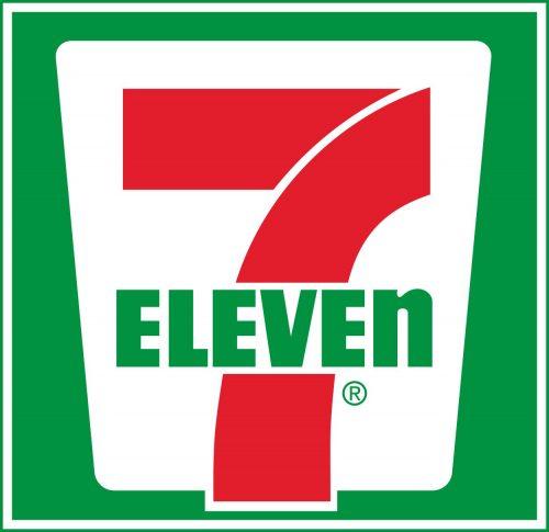 Наклейка логотип 7-ELEVEN