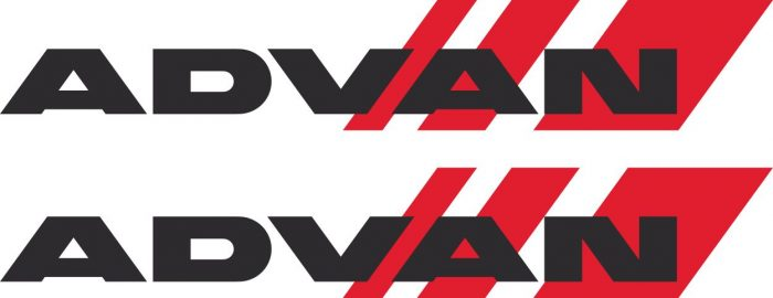 Наклейка логотип ADVAN