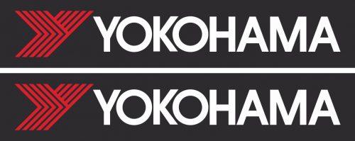 Наклейка логотип YOKOHAMA