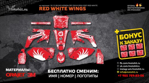 RED-WHITE-WINGS