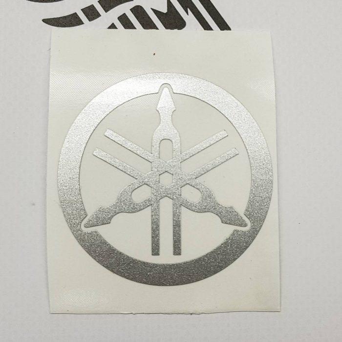 Наклейка Логотип Камертон Yamaha