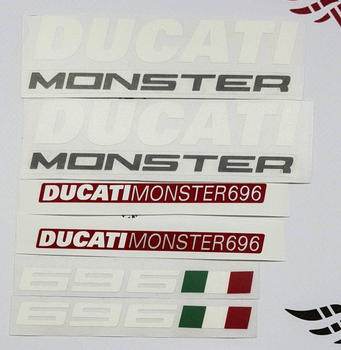 Комплект наклеек Ducati Monster 696