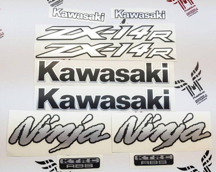 Комплект наклеек Kawasaki ZX-14R