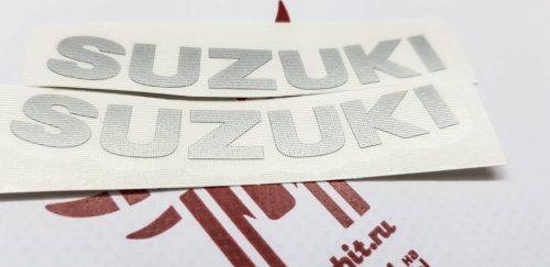 Наклейки Маленькие надписи Suzuki