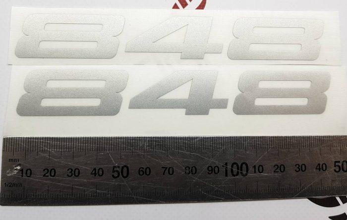 Наклейка Ducati 848
