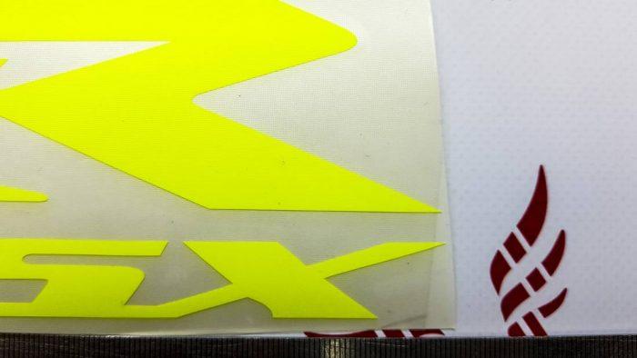 Наклейка Suzuki GSX R