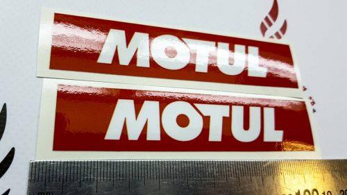 Наклейка Логотип Motul