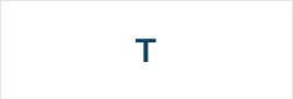 Логотипы на букву T