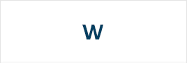 Логотипы на букву W