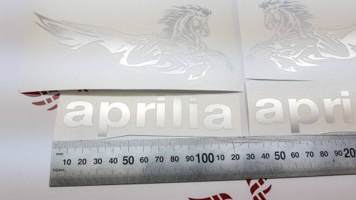 Комплект наклеек Aprilia Pegaso хром