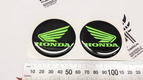 Крылья Honda со смолой зелёный неон