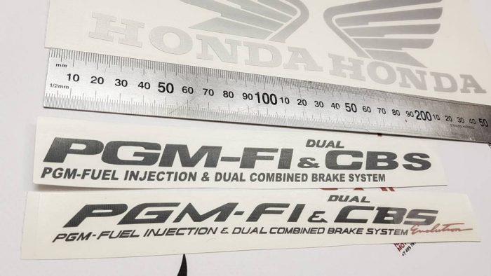 Комплект наклеек Honda PGM-F1
