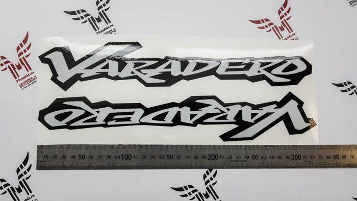 Светоотражающие наклейки Honda Varadero