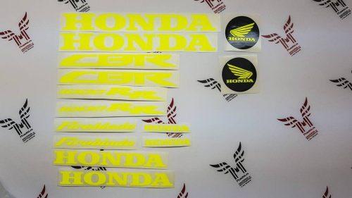 Комплект неоновых наклеек Honda CBR 1000RR Fireblade