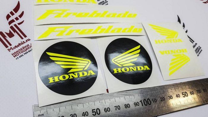 Неоновый мини комплект Honda Fireblade